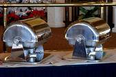 Ohřívače pokrmů — Stock fotografie
