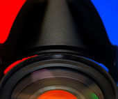 Objektiv 4 — Stockfoto
