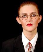 Severe Business Woman — Zdjęcie stockowe