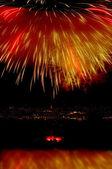 Fireworks 5 — Stock Photo