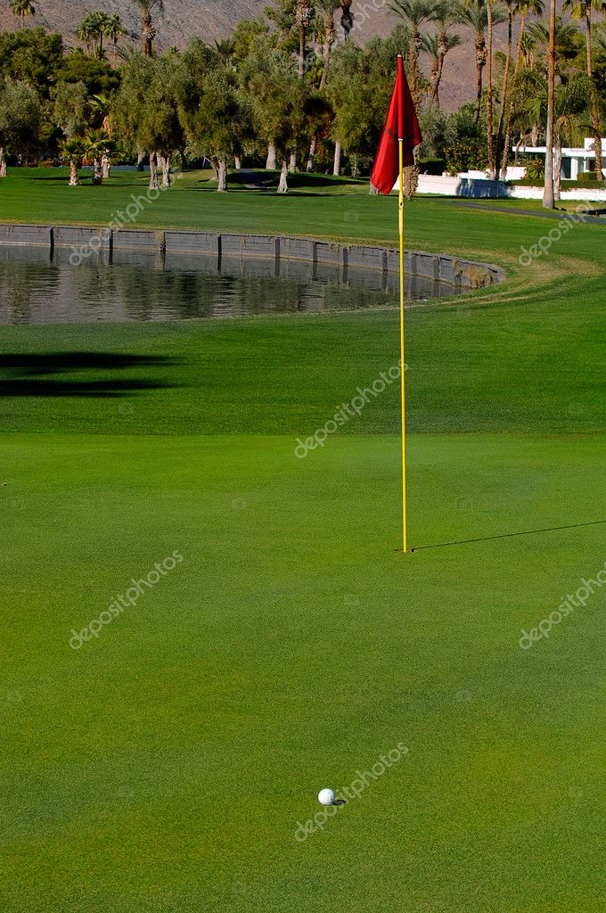 18Th Hole — Stock Photo #3850475