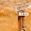 Campground Water Faucet — Stock Photo