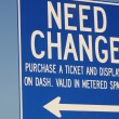 Need Change — Foto de Stock