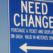 Need Change — Stockfoto