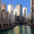 Stock Photo: Chicago River