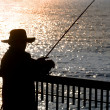 fisherman — Stock Photo