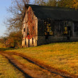 Kentucky Barn - Stock Photo