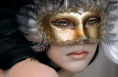 Mannequin with Mask — Stock Photo