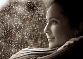 Woman in Deep Thought — Stock Photo