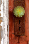 Patina Door knob — Stock Photo