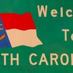 Bem-vindo à Carolina do Norte — Foto Stock