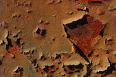 Peeling Rust — Stock Photo