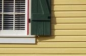 黄房子 — 图库照片