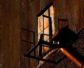 Velho enferrujado edifício — Fotografia Stock