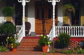 Southern porch — Stock Photo