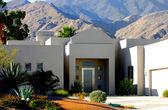 Beautiful Desert Home — Zdjęcie stockowe