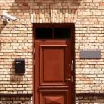 Outside office door — Stock Photo
