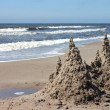 Stock Photo: Sandcastle