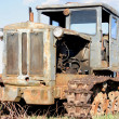 Abandoned tractor — Stock Photo #3903479