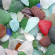 Stock Photo: Glass stones background