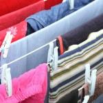 Hanging laundry — Stock Photo #3903684