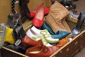 Gamla skor — Stockfoto