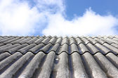 Roof and the sky — Stock Photo