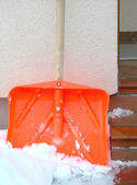 Snow shovel — Stock Photo