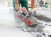 Tehlikeli bir iş — Stok fotoğraf