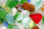 Wet Glass Stones — Stock Photo
