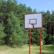 Street basketball hoop - Stock Photo