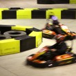 Постер, плакат: Go cart racing
