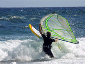 Windsurfer — Stock Photo