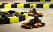 Go-cart racing — Stock Photo