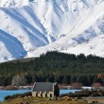 Church of The Good Shepherd, Tekapo, New Zealand — Stock Photo #3829173