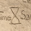 Time sand — Stock Photo