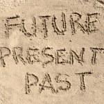 Future Present Past — Stock Photo