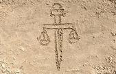 Justiça, a espada de themis — Foto Stock