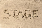Stage — Foto Stock
