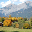 Fall in austrian alps — Stock Photo