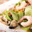 Salad made of seafood — Stock Photo #3913328
