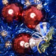 Christmas and New Year decorations — Stock Photo #4070296