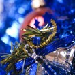 Christmas and New Year decorations — Stockfoto #4070310