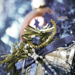 Christmas and New Year decorations - Foto Stock