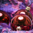 Christmas and New Year decorations — Stock Photo #4094377