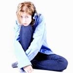 Depressed girl — Stock Photo