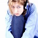 dziewczyna depresji — Zdjęcie stockowe