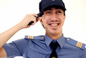 Young policeman — Stock Photo