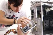 Reparación de computadoras — Foto de Stock