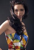 Retrato de una joven — Foto de Stock